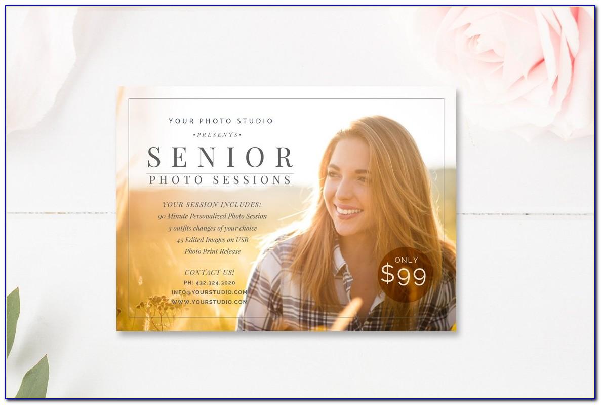 Senior Photography Marketing Templates