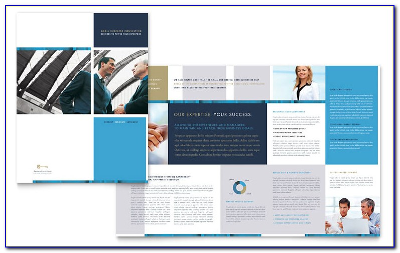 Small Business Brochure Templates