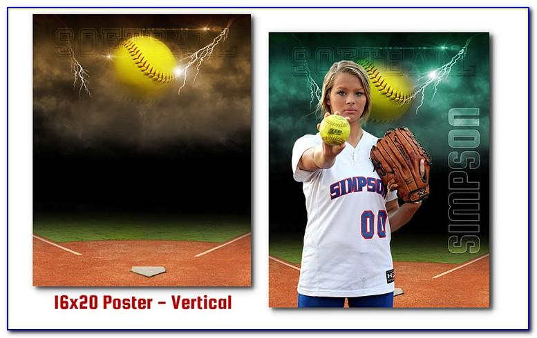 Softball Team Banner Templates