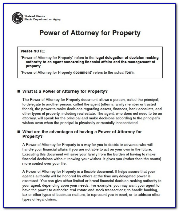State Of Ohio Durable Power Of Attorney Forms