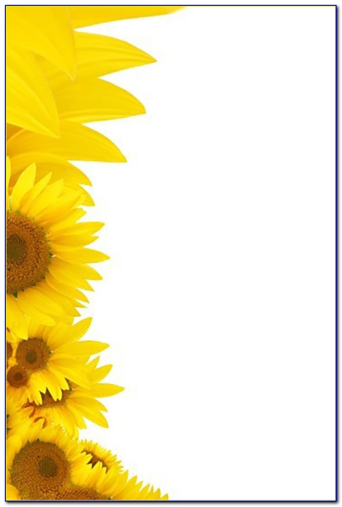 Sunflower Baby Shower Invitation Template