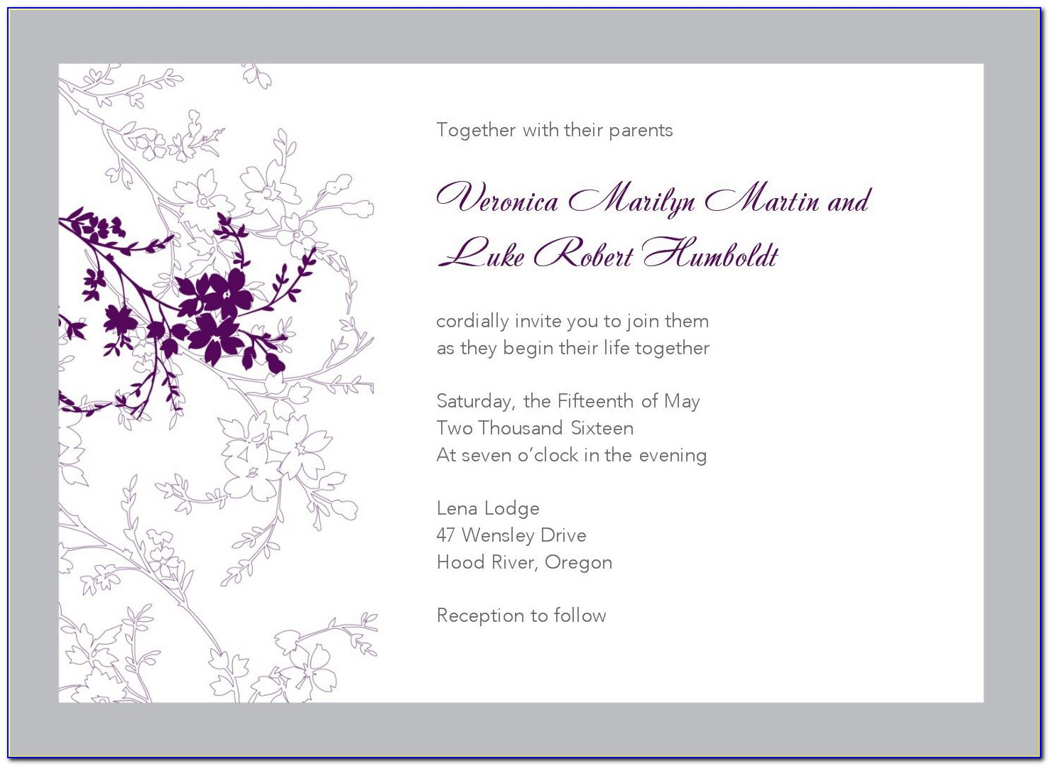 Template For Birthday Invitation Cards
