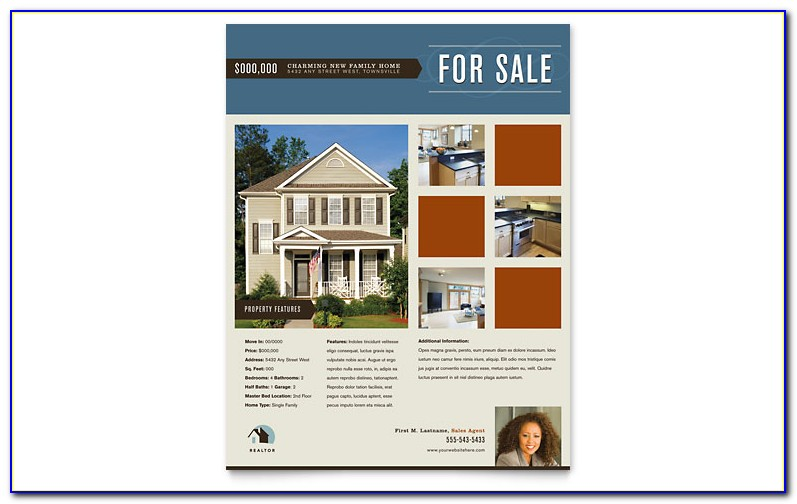 Template For Real Estate Flyer