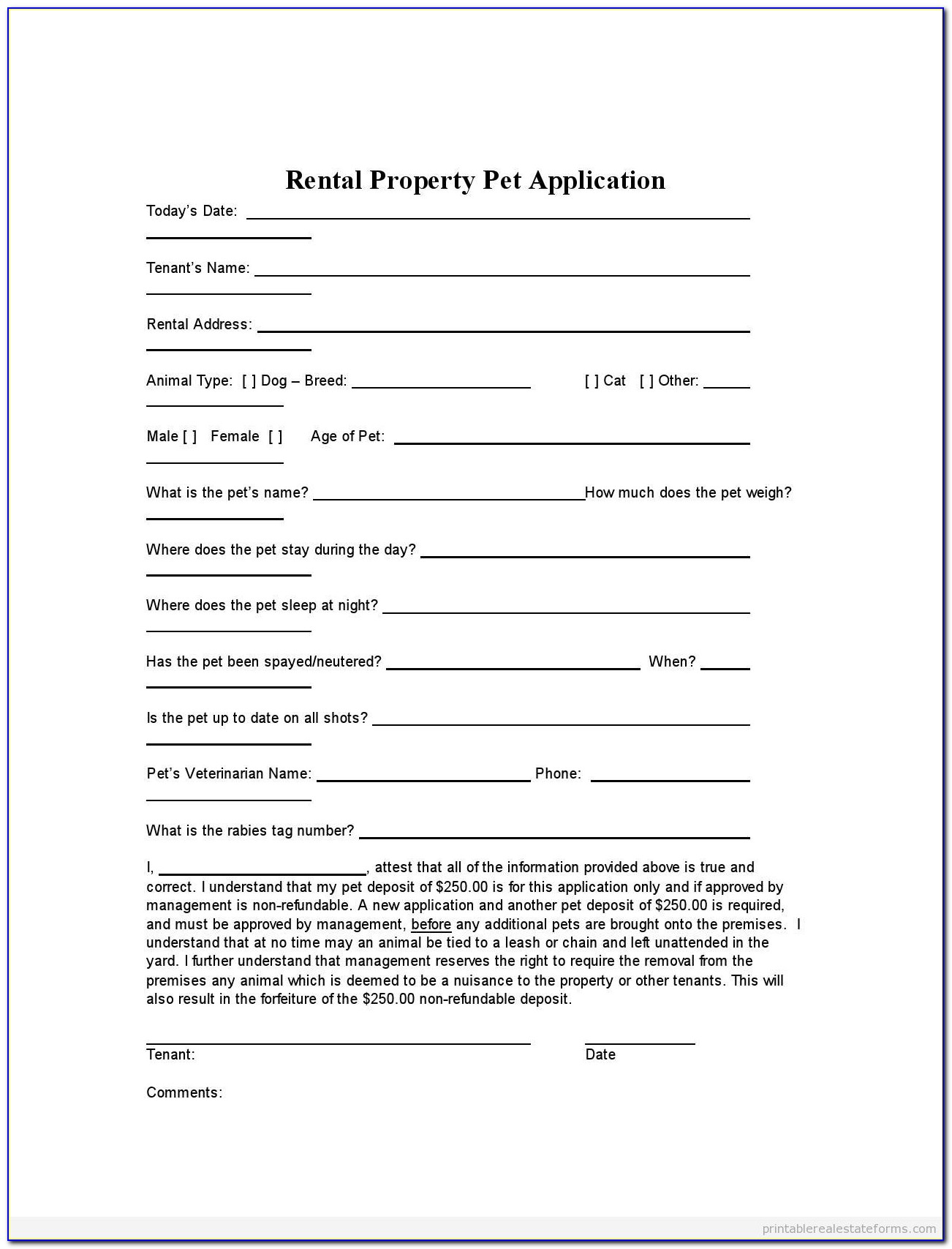 Template Of Commercial Lease Agreement