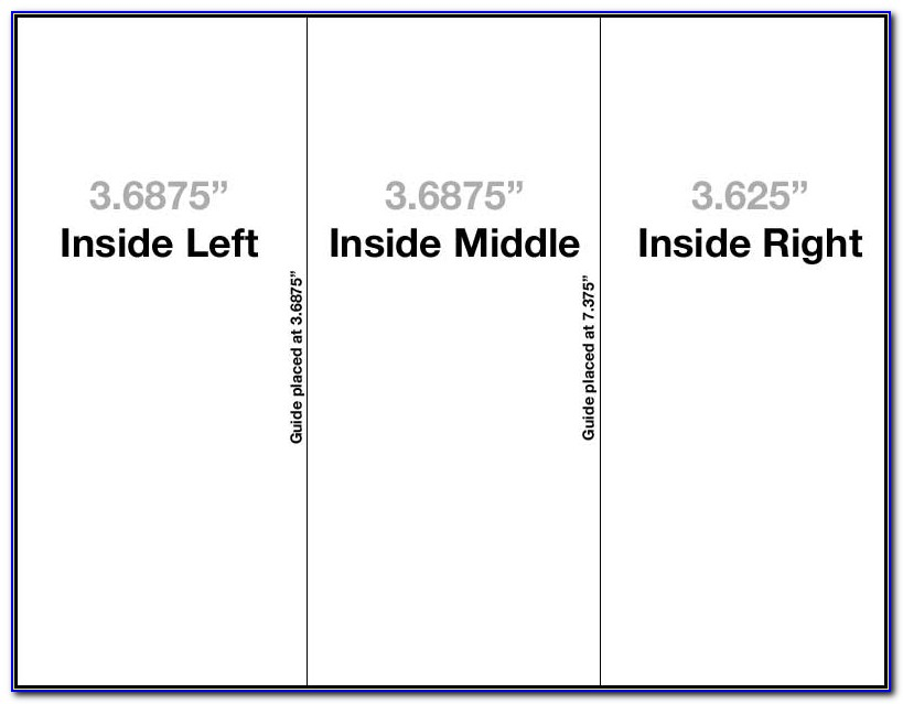 Tri Fold Brochure Template Setup How To And Free Download Tri Fold Brochure Indesign Template Tri Fold Brochure Indesign Template