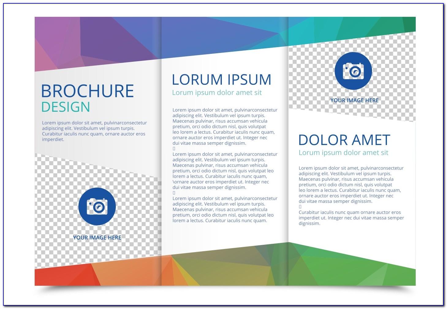 Three Fold Brochure Template Free