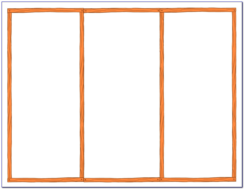 Three Fold Brochure Template Word Free