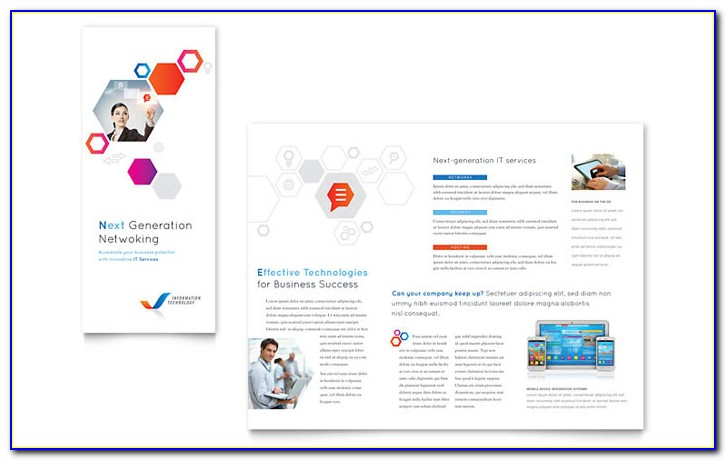 Tri Fold Brochure Template Free Word