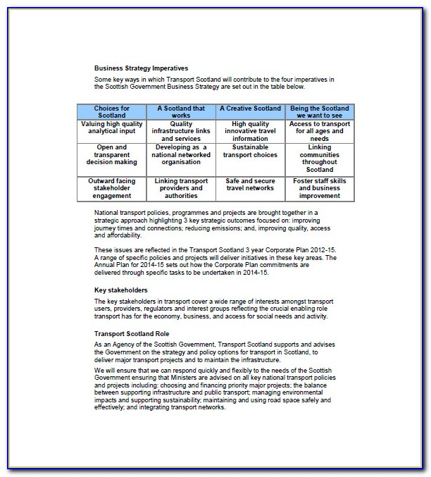 Trucking Business Plan Template Free