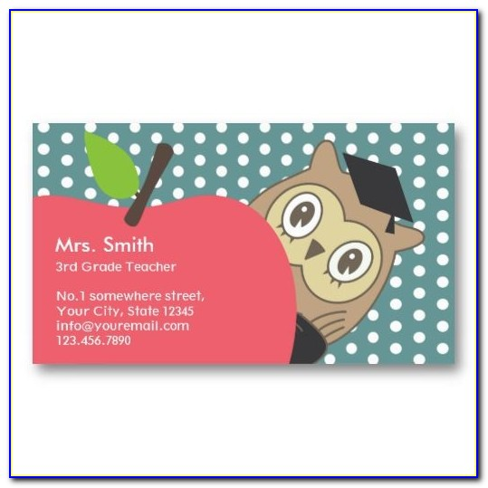 Tutoring Business Cards Templates Free