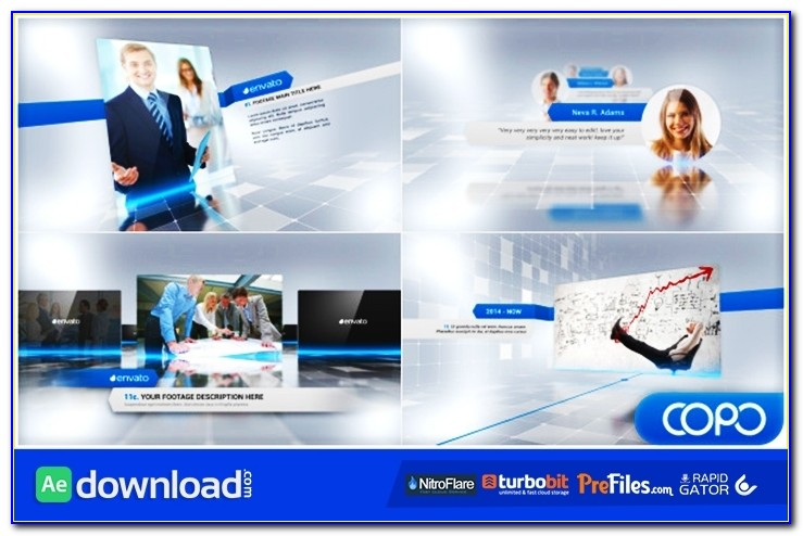 Complete Corporate Presentation Video (videohive Template Intended For Videohive After Effects Templates
