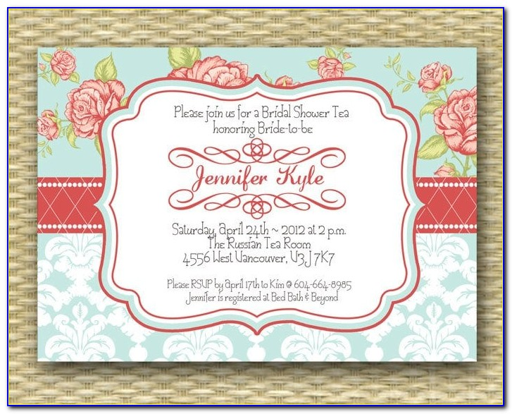 Vintage Party Invitation Templates Free