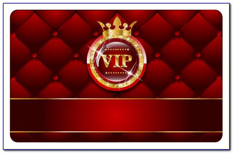 Vip Card Template Free