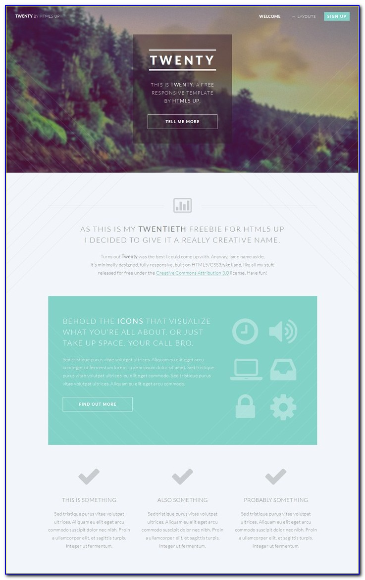 Website Templates Html5 Responsive
