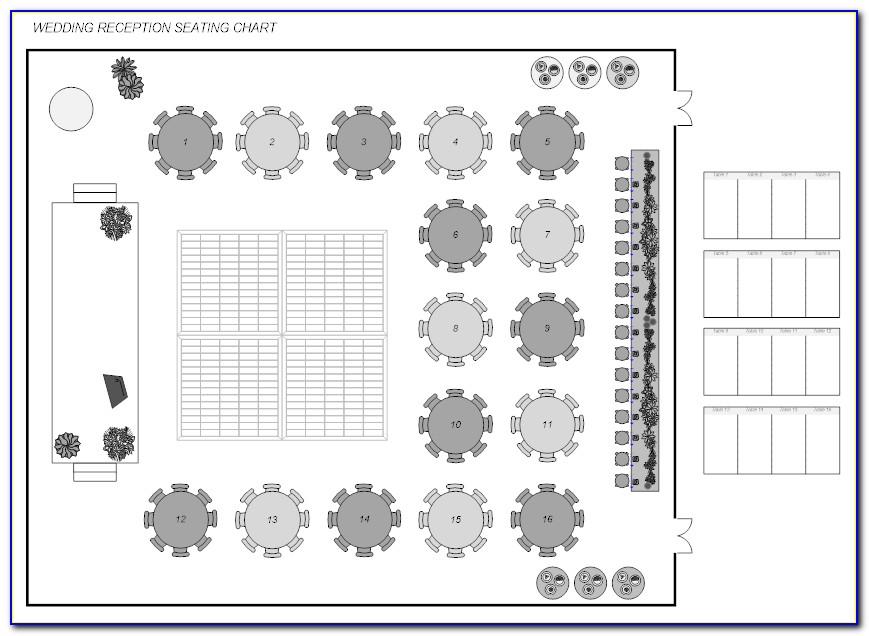 Wedding Floor Plan Layout