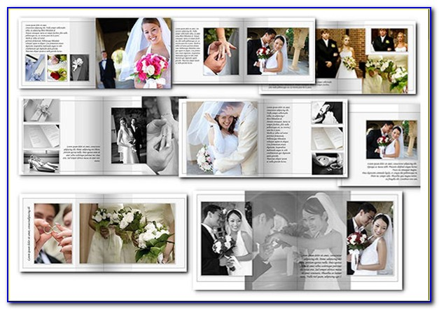 Wedding Photo Album Indesign Template