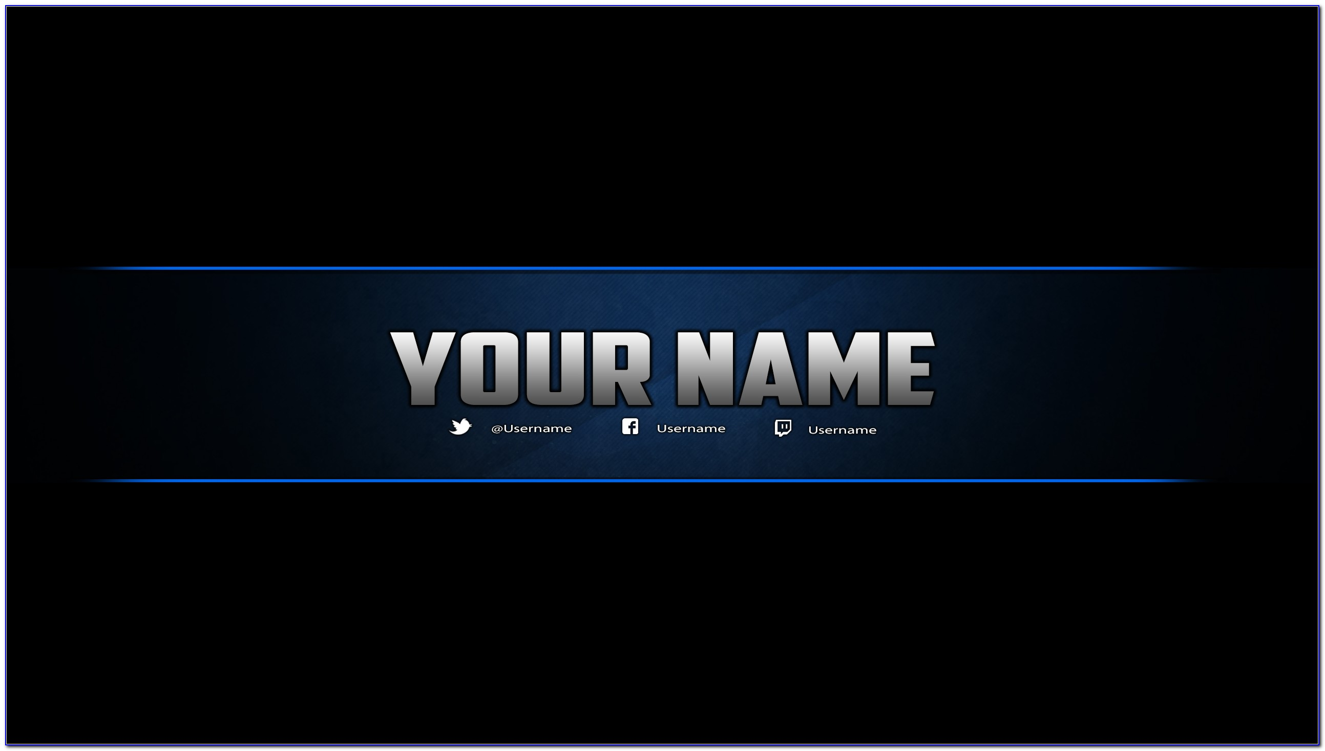 X Banner Template Psd Free Download