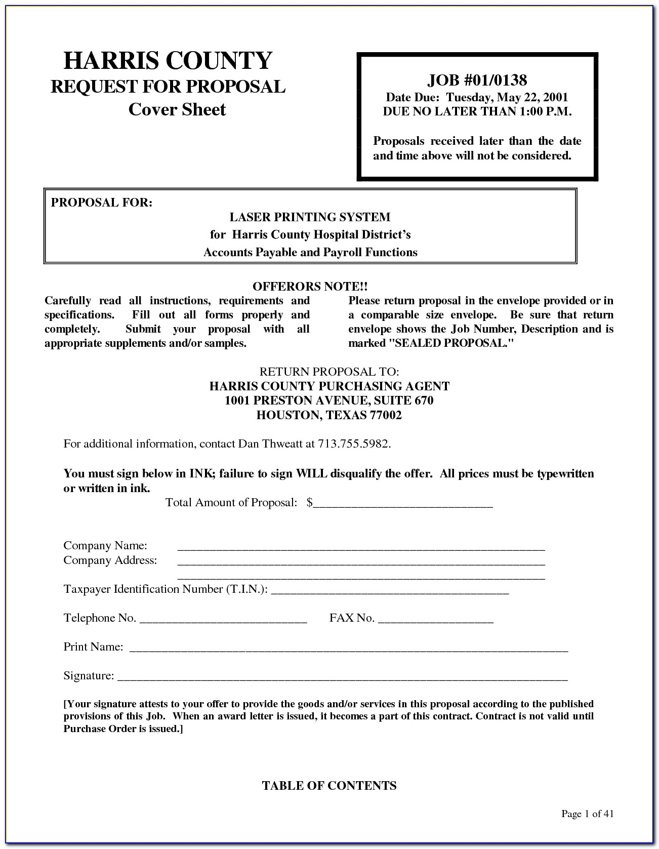 1099 Employee Contract