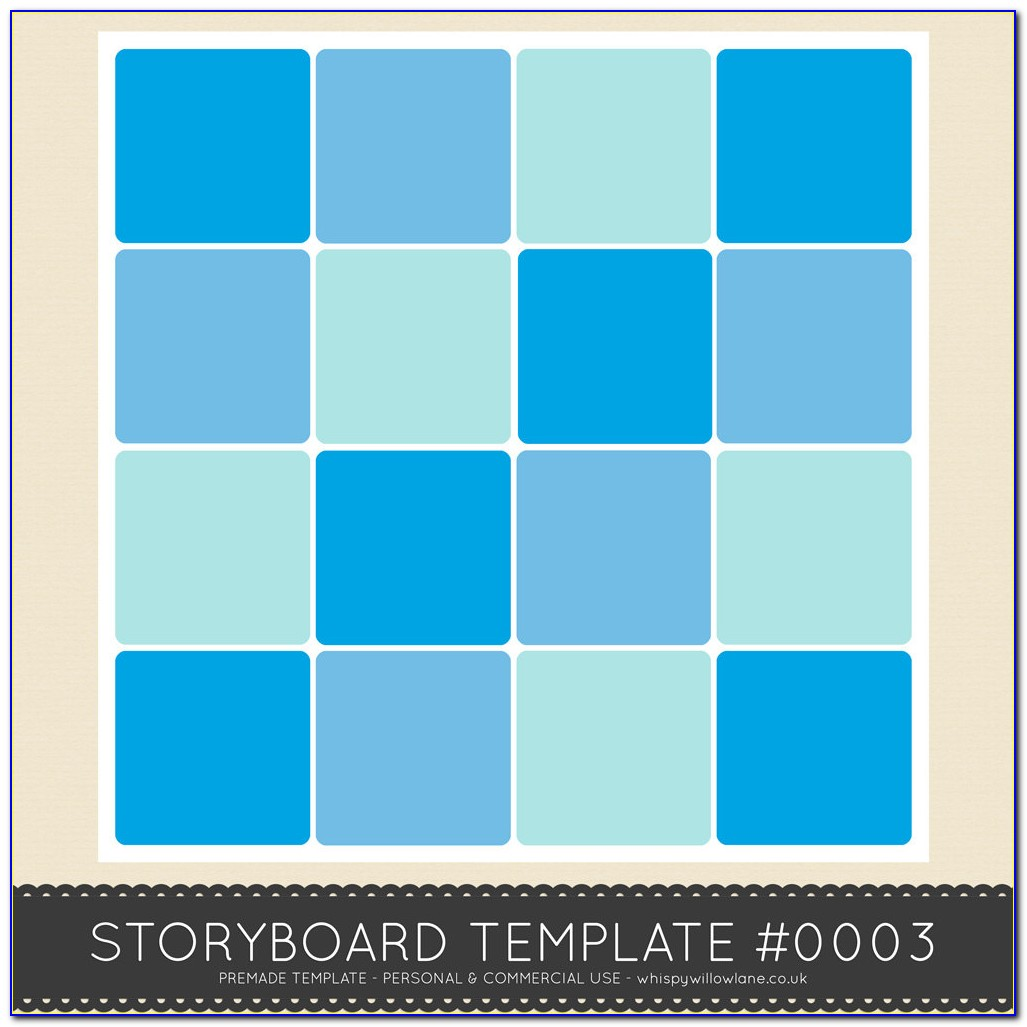 12 X 12 Photo Collage Template Free