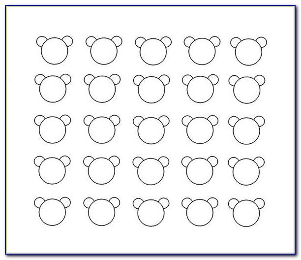 3.5 Inch Circle Template Printable