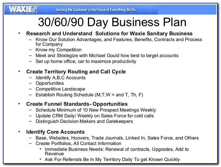Interview Business Plan Template Best 25 90 Day Plan Ideas On Intended For How To Write A 90 Day Business Plan