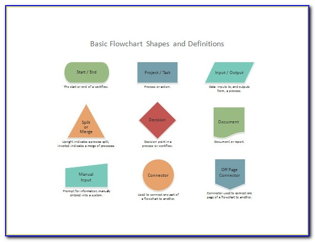 3d Flow Chart Template Free Download