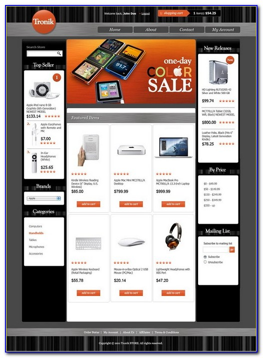 3dcart Premium Templates