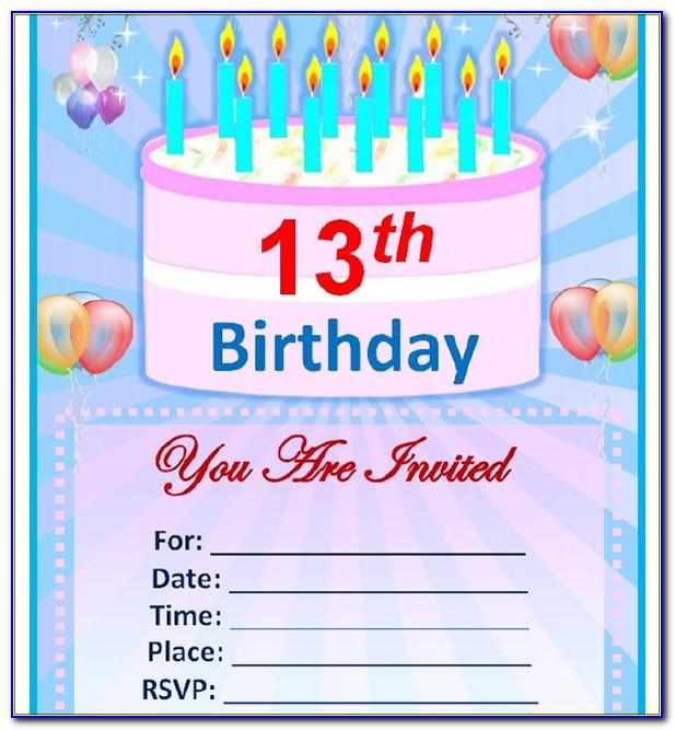 3rd Birthday Party Invitation Wording Samples