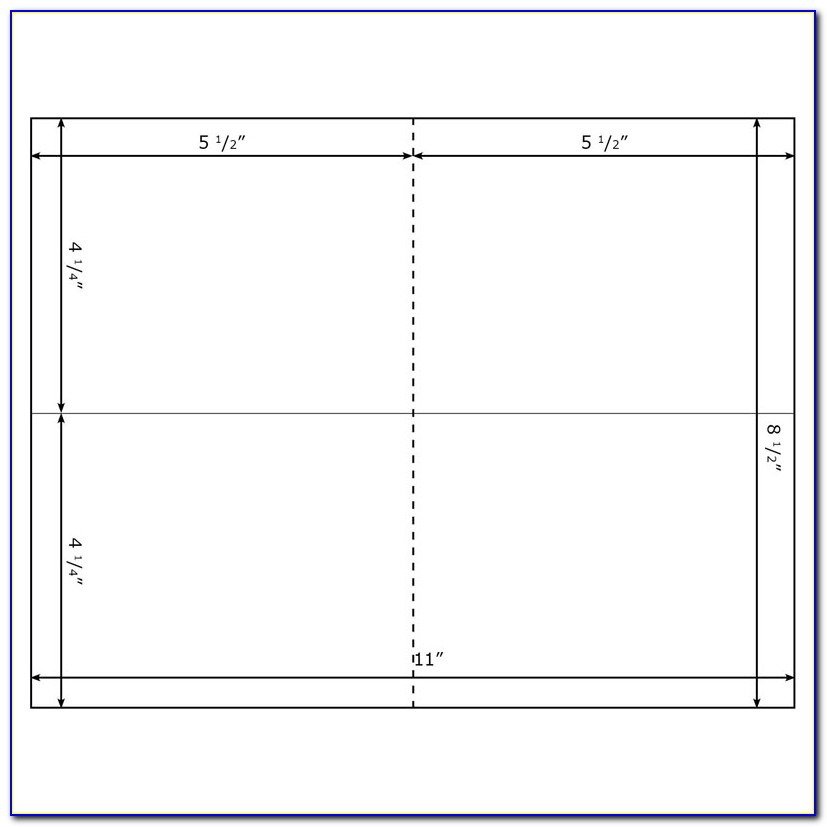 4x6 Greeting Card Template Word