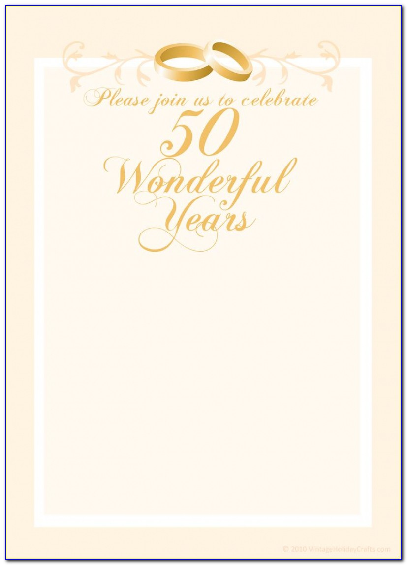 Free Anniversary Invitation Templates | Cleavercrafts | Pinterest