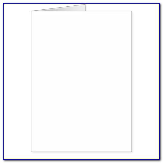 5x7 Greeting Card Template Print