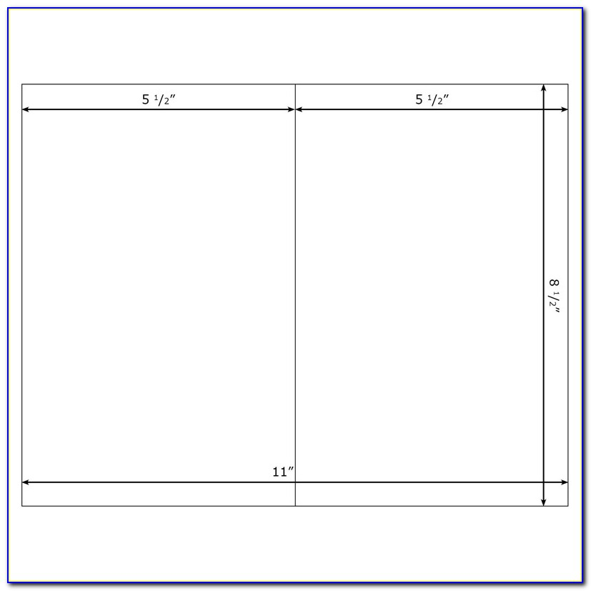 5x7 Greeting Card Template Word