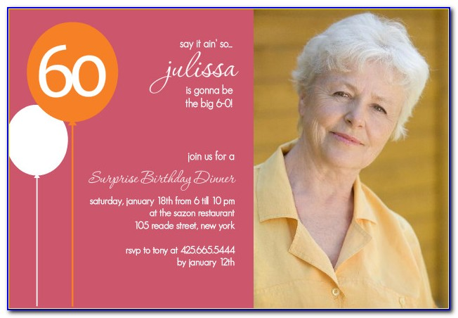 60th Birthday Collage Template
