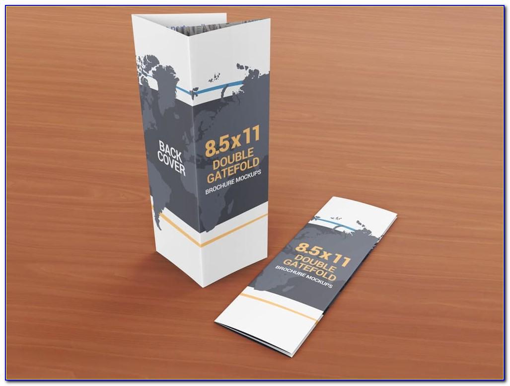 8.5 X 11 Bifold Brochure Template