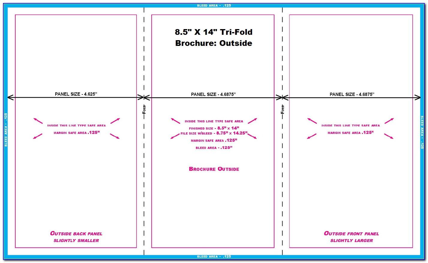 8.5 X 11 Brochure Template Illustrator