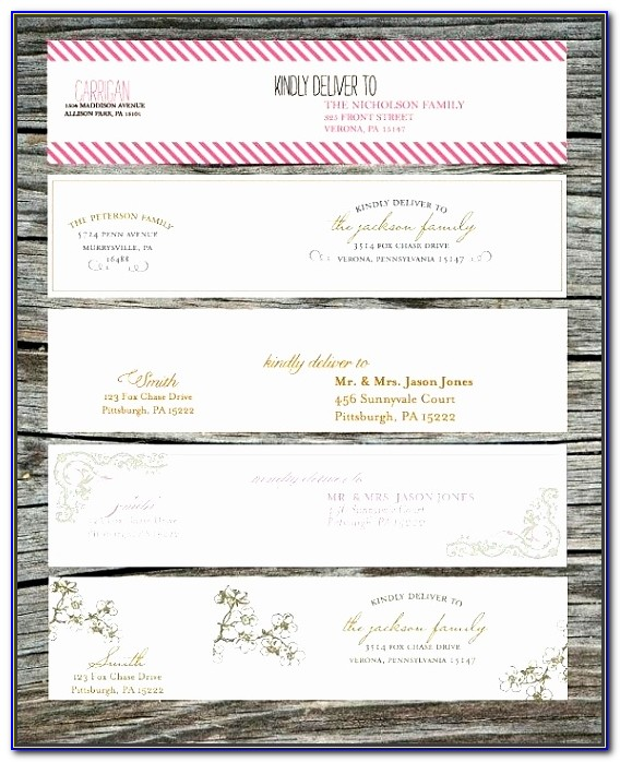 Free Wedding Return Address Label Templates Vazkf Fresh Return Address Template Return Address Label Templates Template