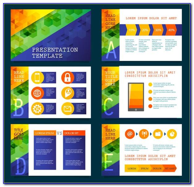 Adobe Illustrator Presentation Template