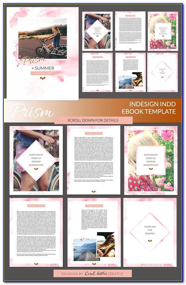 Adobe Indesign Free Ebook Templates