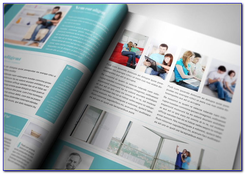 Adobe Indesign Magazine Template Download Free