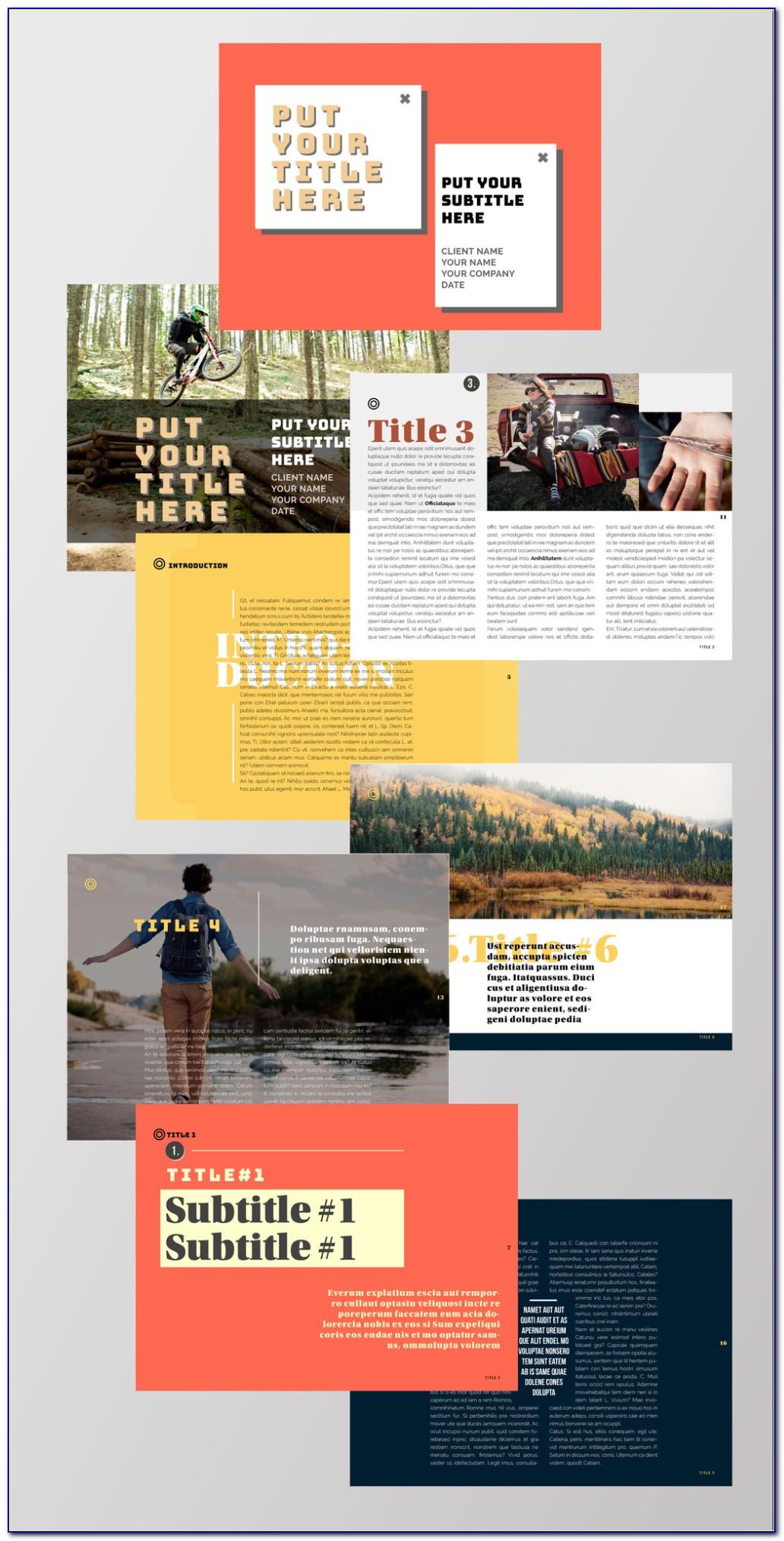 Adobe Indesign Magazine Template Free