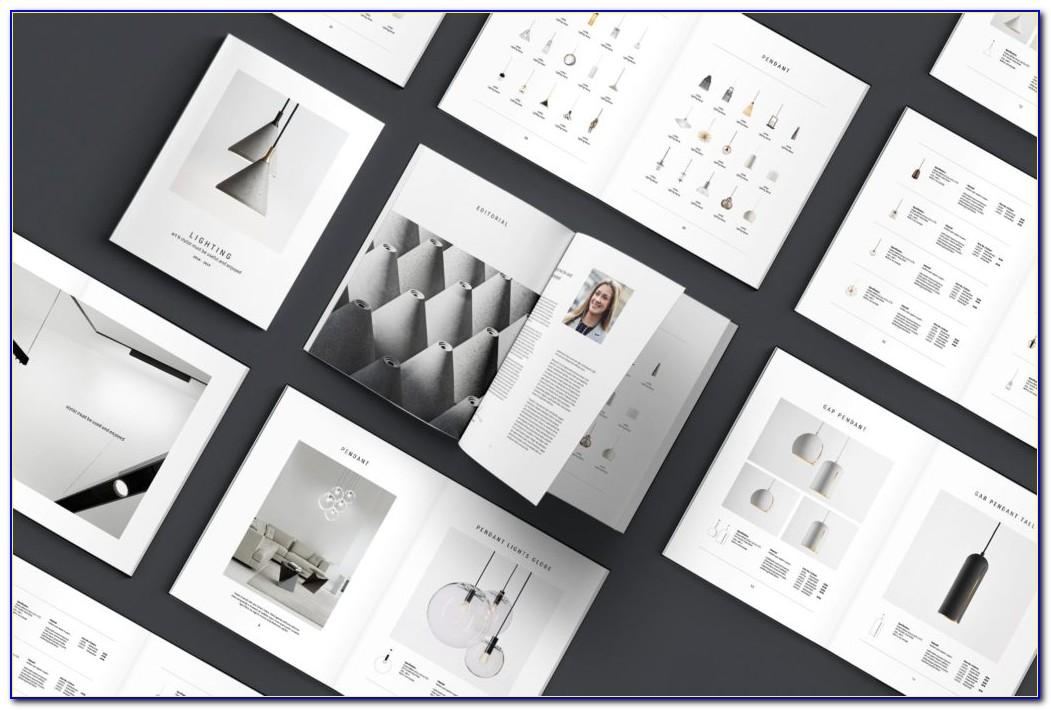 Adobe Indesign Photobook Template