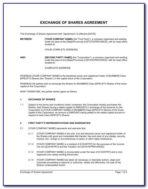 Advertising Barter Agreement Template