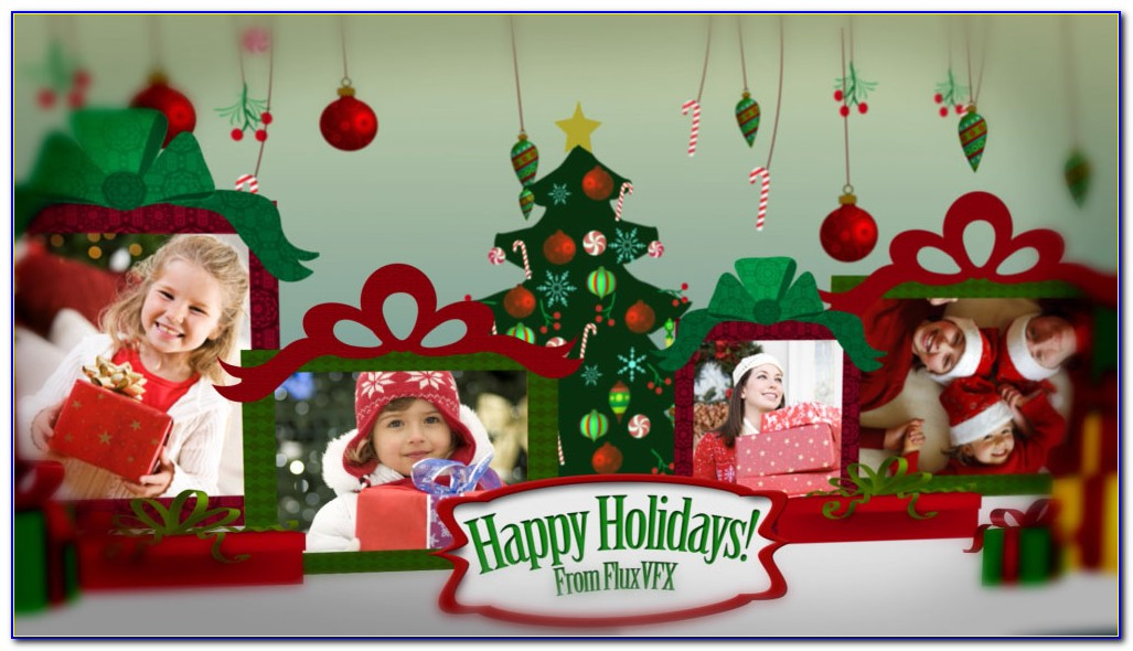 After Effects Christmas Templates Free