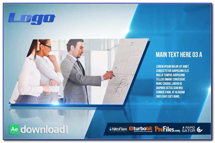 After Effects Corporate Presentation Template Free Download