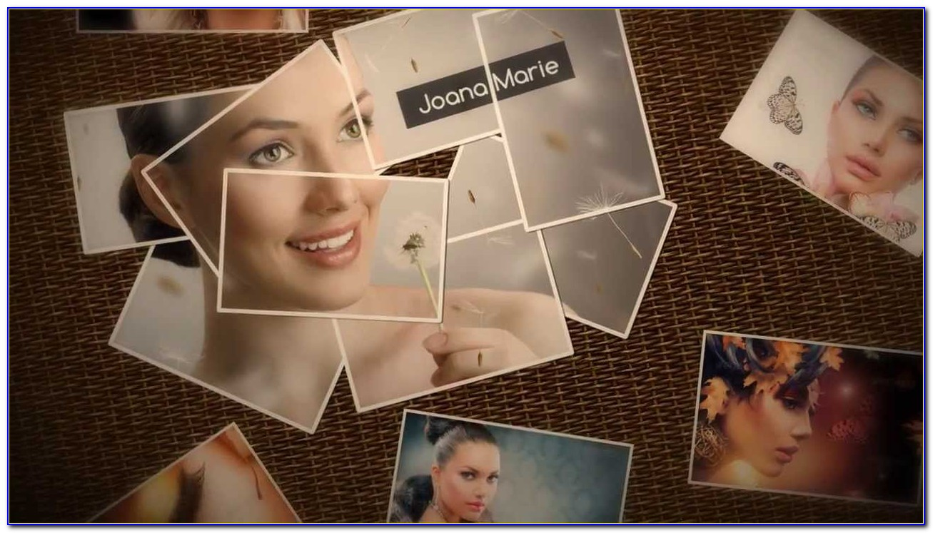 After Effects Photo Montage Template Free Download