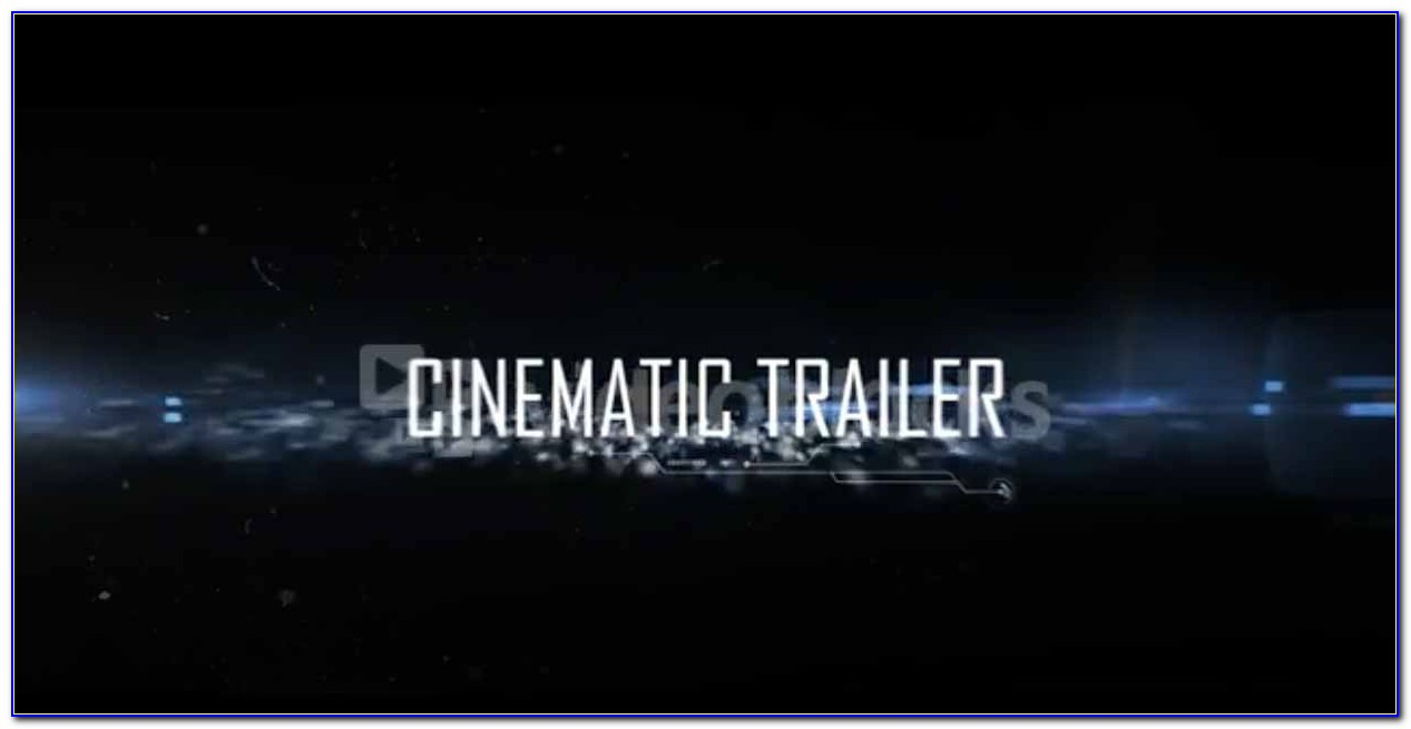 After Effects Trailer Template Free