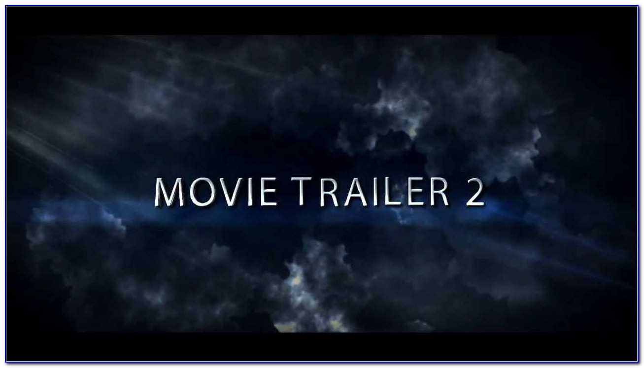 After Effects Trailer Templates Free Download