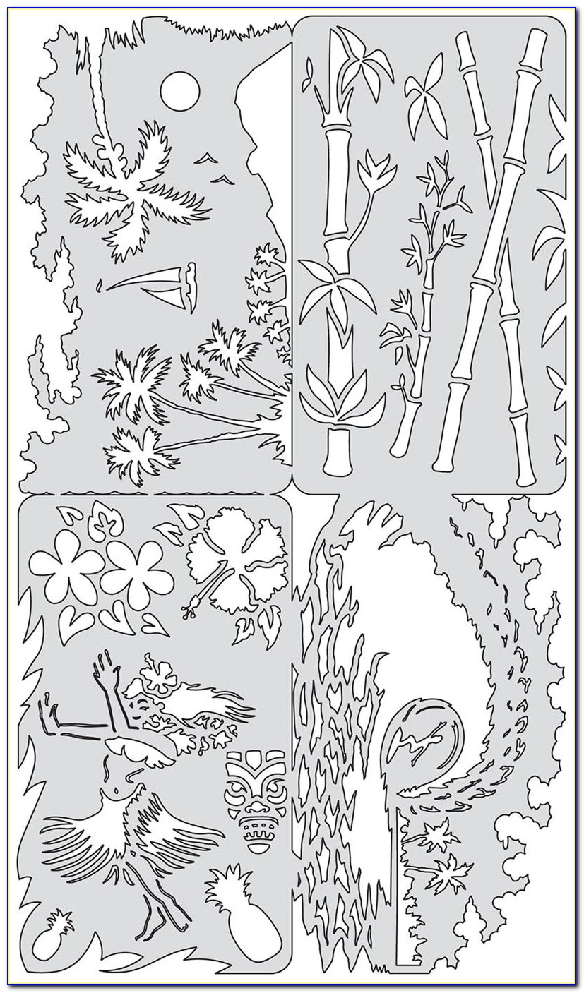 Airbrush Stencil Designs Free