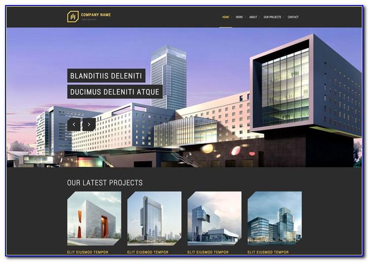 Architecture Website Templates Wordpress Free