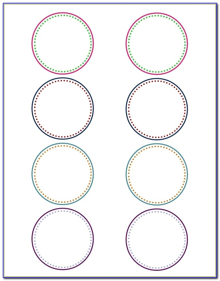 Avery Round Labels 22807 Template Avery Template 22807 Fresh Free 2 Round Label Template